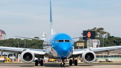 LV-FSK - Aerolineas Argentinas Boeing 737-800
