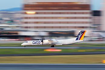 JA842C - JAL-  Japan Air Commuter de Havilland Canada DHC-8-402Q Dash 8
