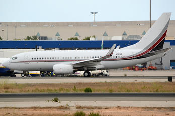 N721UF - Private Boeing 737-700 BBJ
