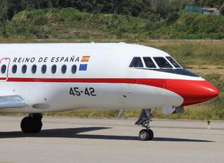 T.18-3 - Spain - Air Force Dassault Falcon 900 series