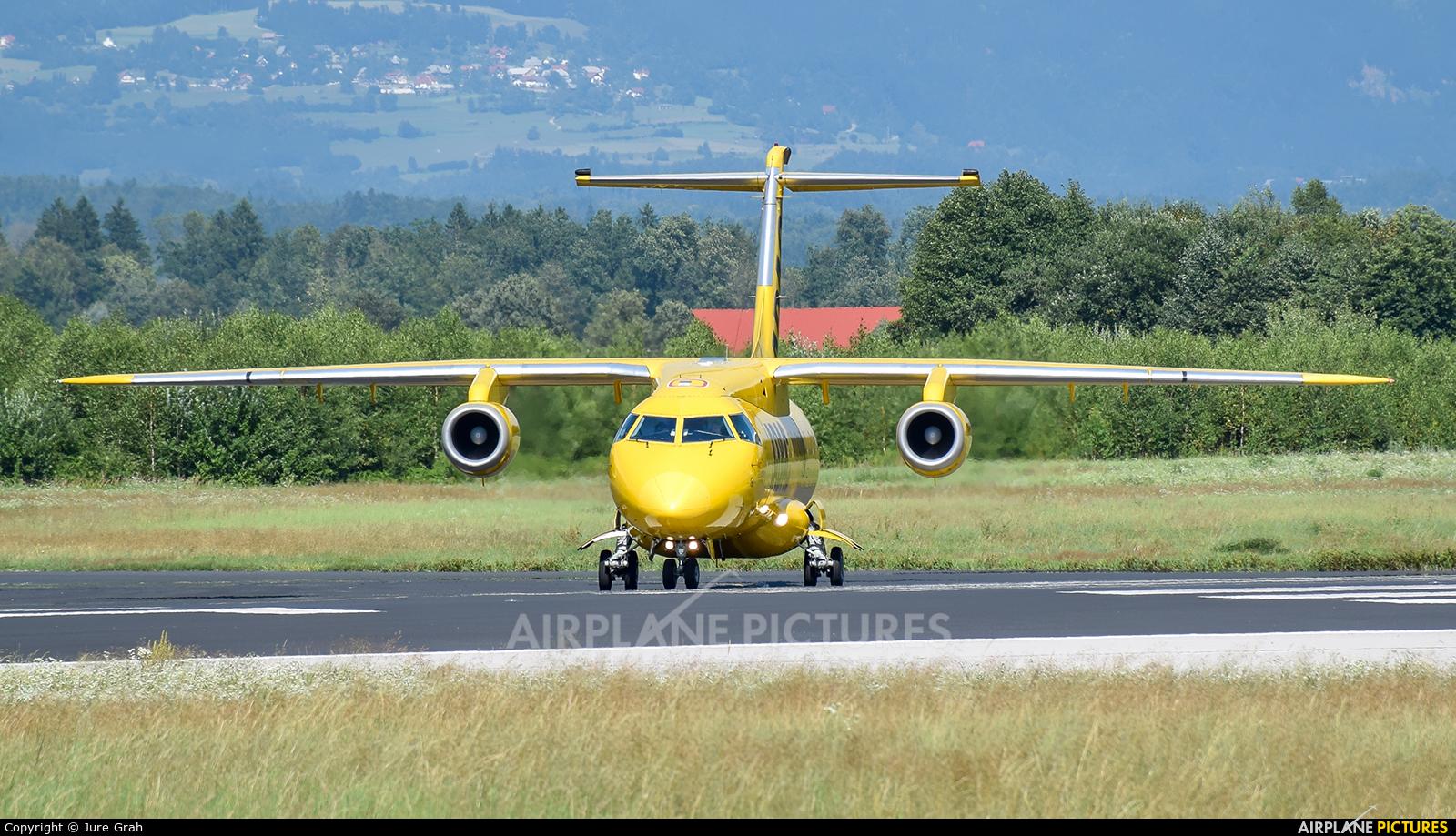 ADAC Luftrettung D-BADA aircraft at Ljubljana - Brnik