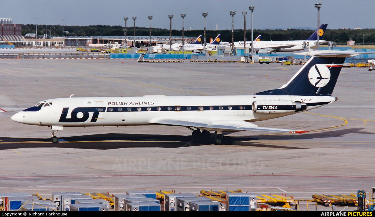 LOT - Polish Airlines SP-LHF aircraft at Frankfurt