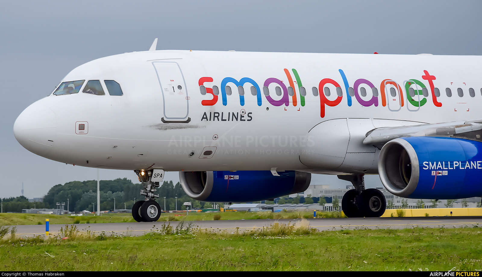 Small Planet Airlines LT-SPA aircraft at Amsterdam - Schiphol