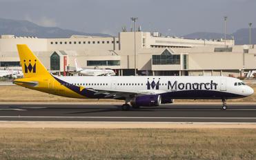 G-ZBAJ - Monarch Airlines Airbus A321