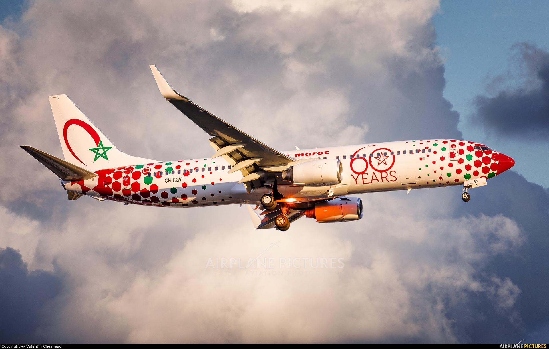 Royal Air Maroc CN-RGV aircraft at Paris - Orly