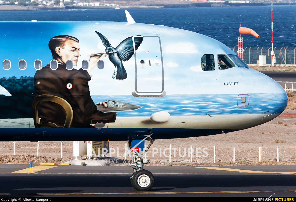 Brussels Airlines OO-SNC aircraft at Lanzarote - Arrecife