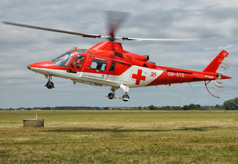 OM-ATD - Air Transport Europe Agusta / Agusta-Bell A 109