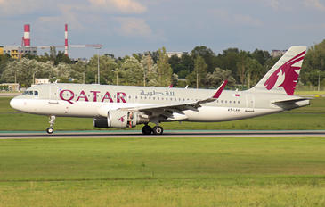 A7-LAA - Qatar Airways Airbus A320