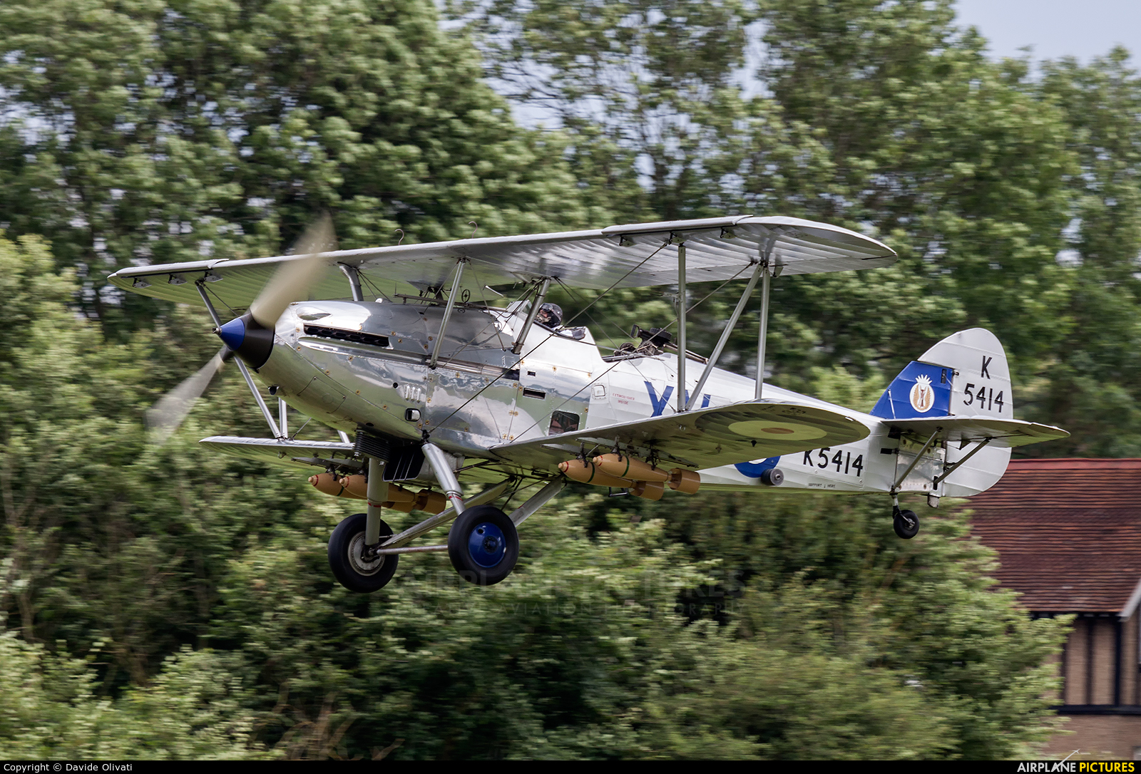 The Shuttleworth Collection K5414 aircraft at Old Warden