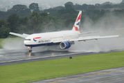 G-YMMS - British Airways Boeing 777-200 aircraft
