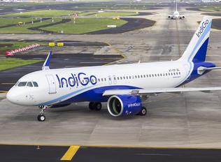 VT-ITP - IndiGo Airbus A320 NEO
