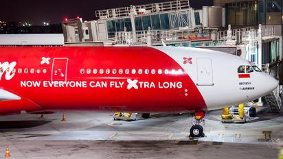 PK-XRA - Indonesia AirAsia Airbus A330-300