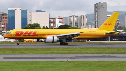 N2110DAE - DHL Cargo Boeing 757-200