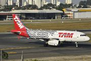 PT-TMD - TAM Airbus A319 aircraft