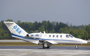 OK-DSJ - DSA - Delta System Air Cessna 525 CitationJet