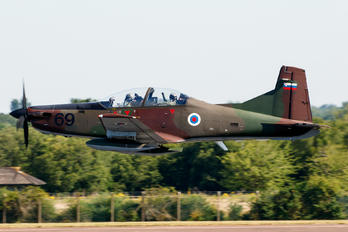 L9-69 - Slovenia - Air Force Pilatus PC-9M