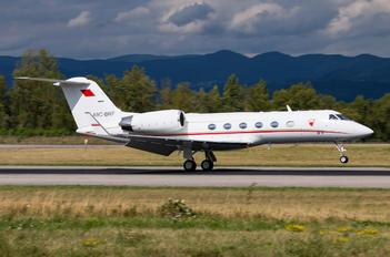 A9C-BRF - Bahrain Amiri Flight Gulfstream Aerospace G-IV,  G-IV-SP, G-IV-X, G300, G350, G400, G450