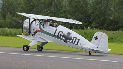 G-CIJV - The Old Buckers Casa 1.133C Jungmeister