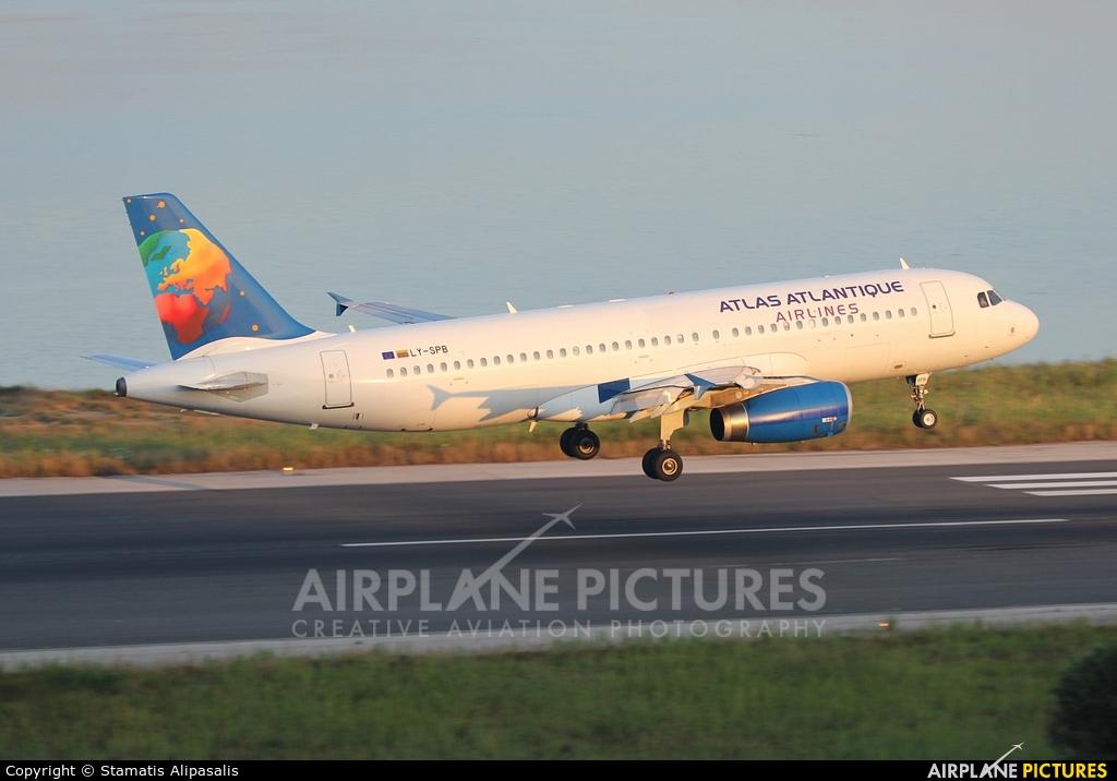Atlas Atlantique Airlines LY-SPB aircraft at Corfu - Ioannis Kapodistrias