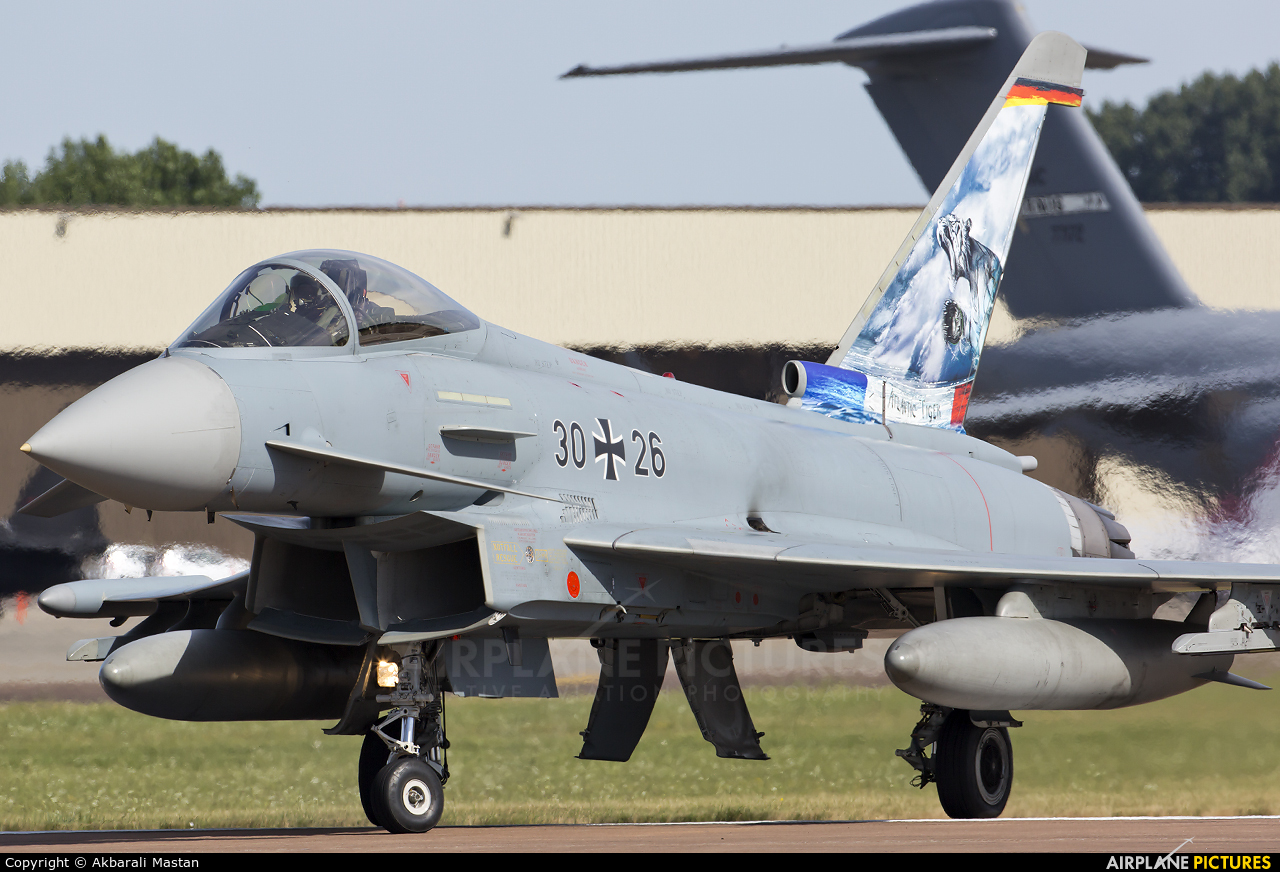 Germany - Air Force 30-26 aircraft at Fairford