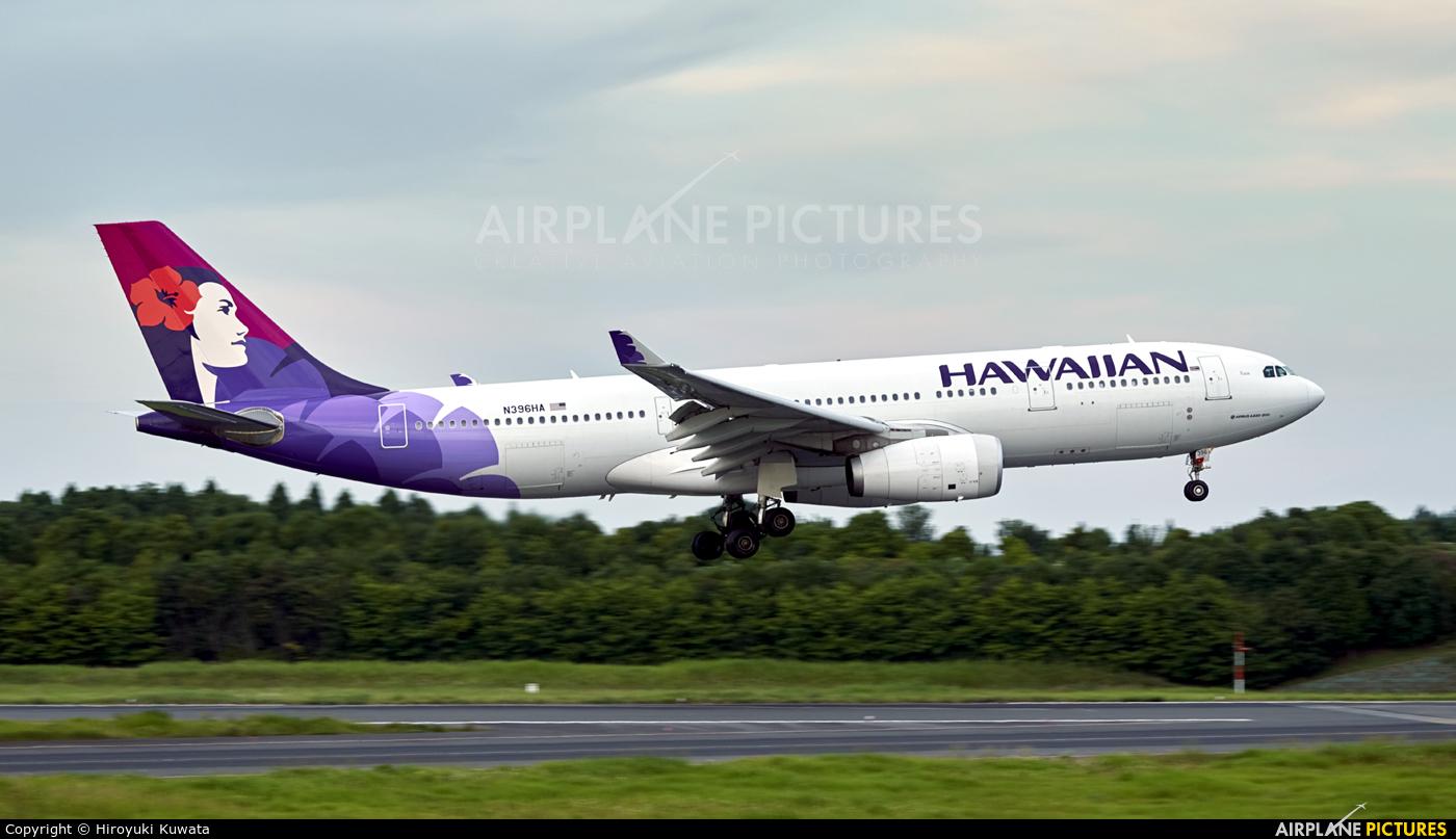 Hawaiian Airlines N396HA aircraft at Tokyo - Narita Intl