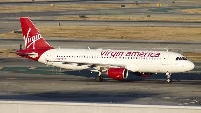 N627VA - Virgin America Airbus A320