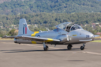 VH-JPV - British Aircraft Corporation BAC Jet Provost T.5A