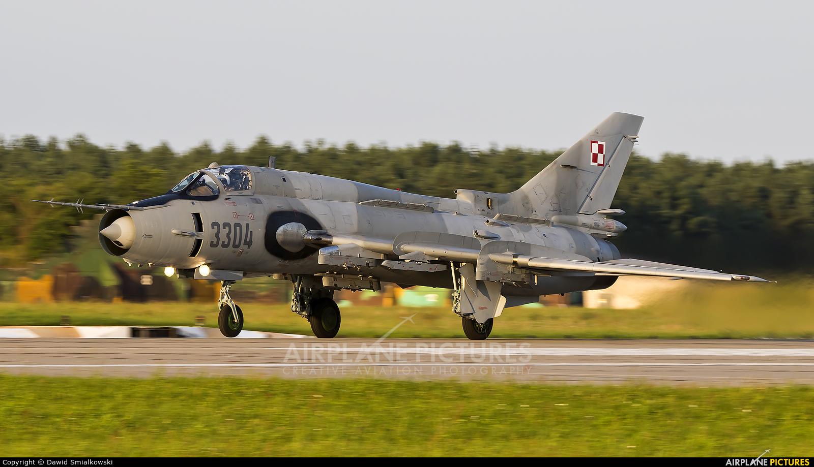 Poland - Air Force 3304 aircraft at Mirosławiec