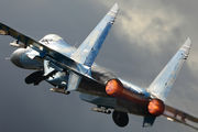 58 BLUE - Ukraine - Air Force Sukhoi Su-27P aircraft