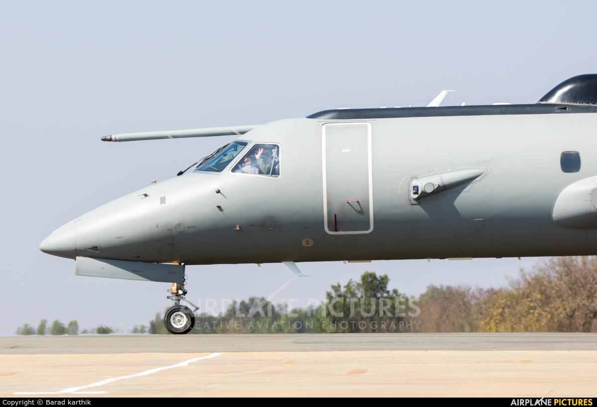India - Air Force KW3555 aircraft at Yelahanka AFB