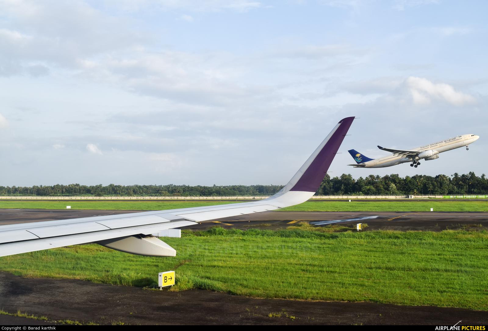 Vistara VT-TTJ aircraft at Cochin Intl