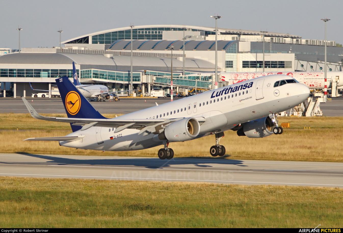 Lufthansa D-AIZZ aircraft at Prague - Václav Havel