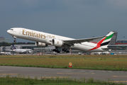 A6-EPS - Emirates Airlines Boeing 777-300ER aircraft