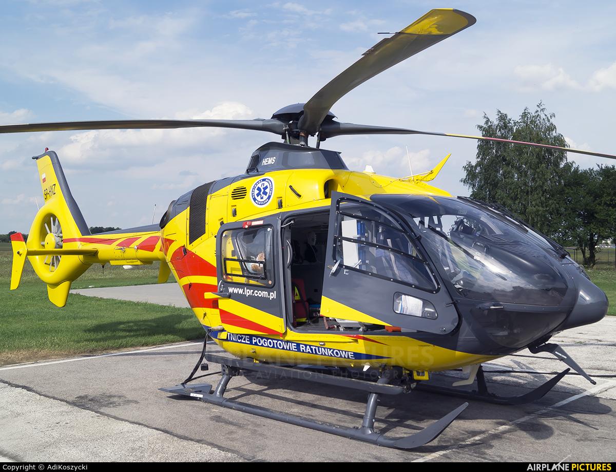 Polish Medical Air Rescue - Lotnicze Pogotowie Ratunkowe SP-HXZ aircraft at Lublin Radawiec
