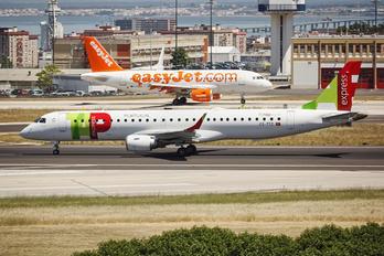 CS-TTZ - TAP Express Embraer ERJ-195 (190-200)