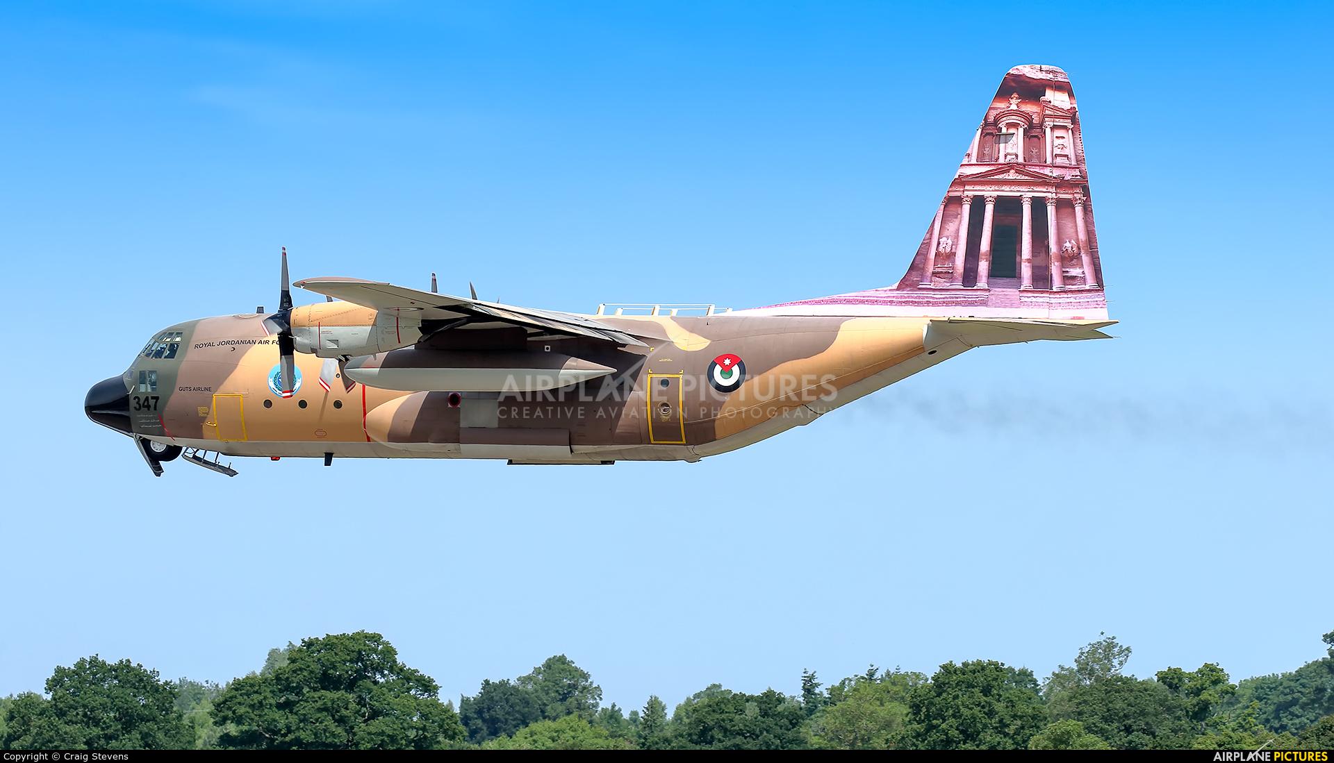 Jordan - Air Force 347 aircraft at Fairford