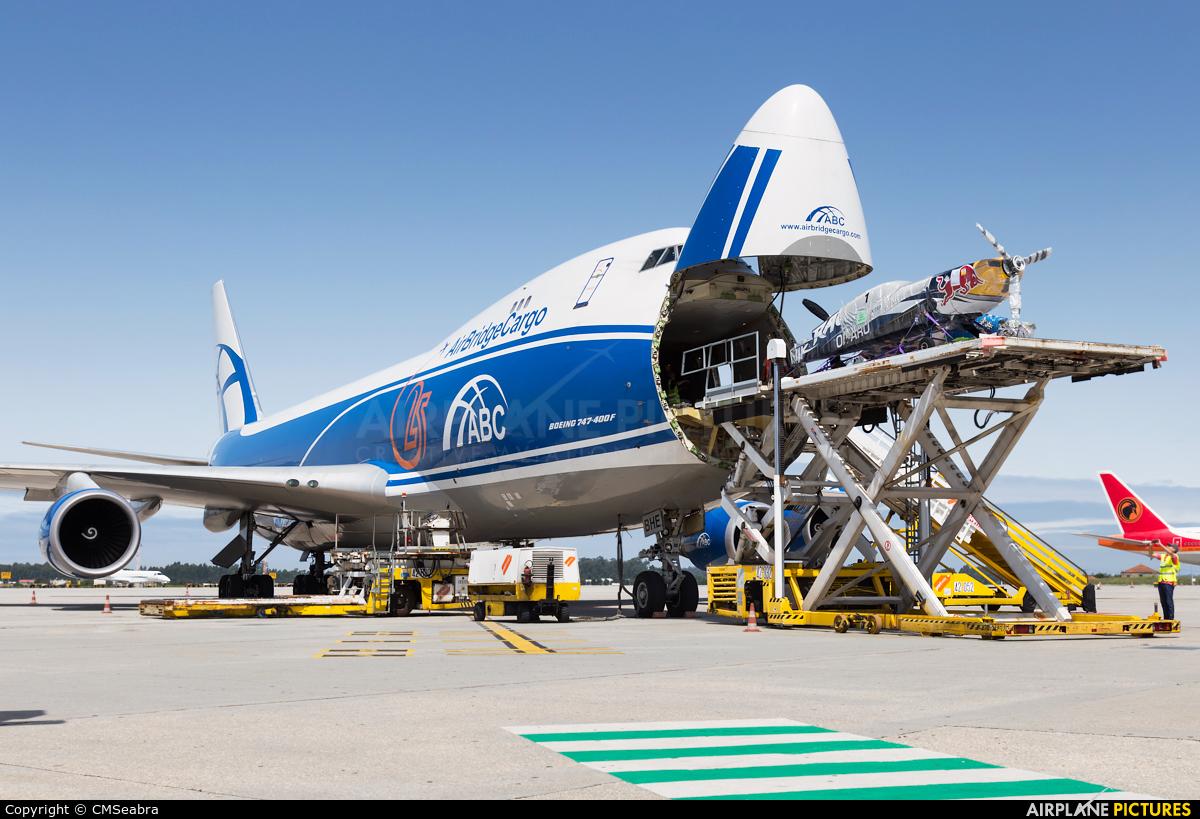Air Bridge Cargo VQ-BHE aircraft at Porto
