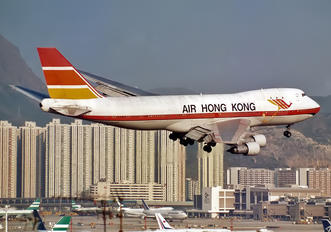 VR-HKN - Air Hong Kong Boeing 747-100F