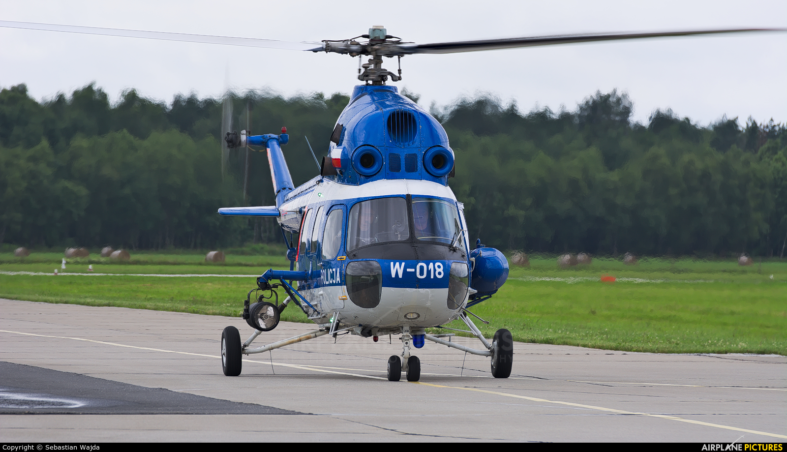 Poland - Police SN-05XP aircraft at Świdwin