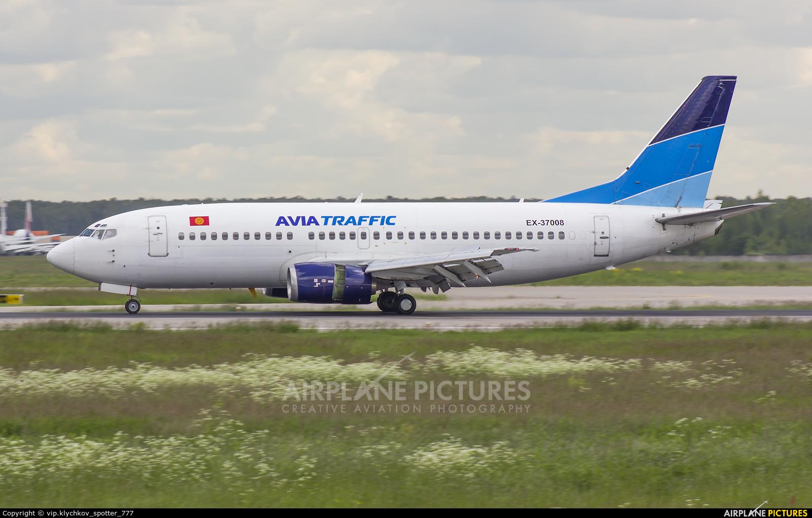 Avia Traffic Company EX-37008 aircraft at Moscow - Domodedovo