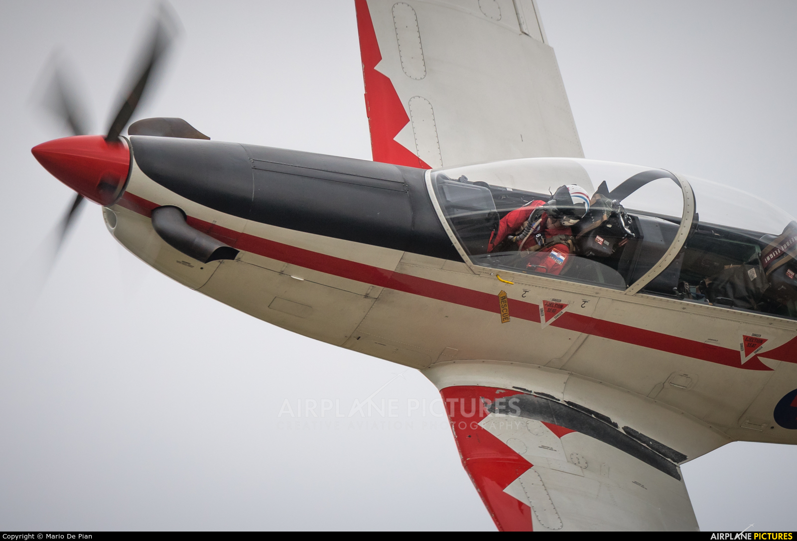 Croatia - Air Force 054 aircraft at Saint Dizier - Robinson