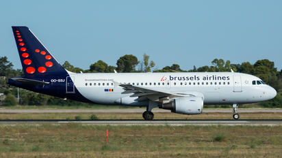 OO-SSJ - Brussels Airlines Airbus A319