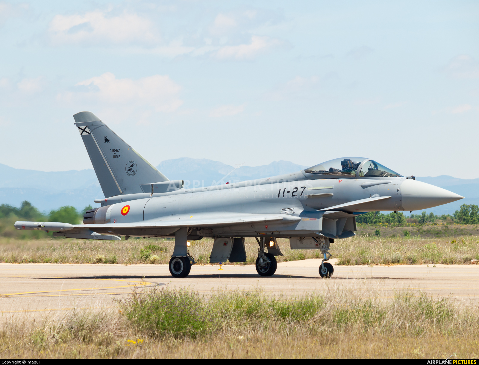 Spain - Air Force C.16-57 aircraft at León