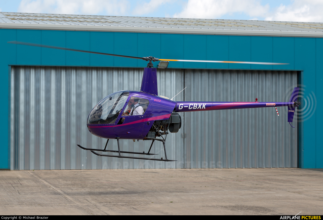 Whizzard Helicopters G-CBXK aircraft at Shobdon Airfield