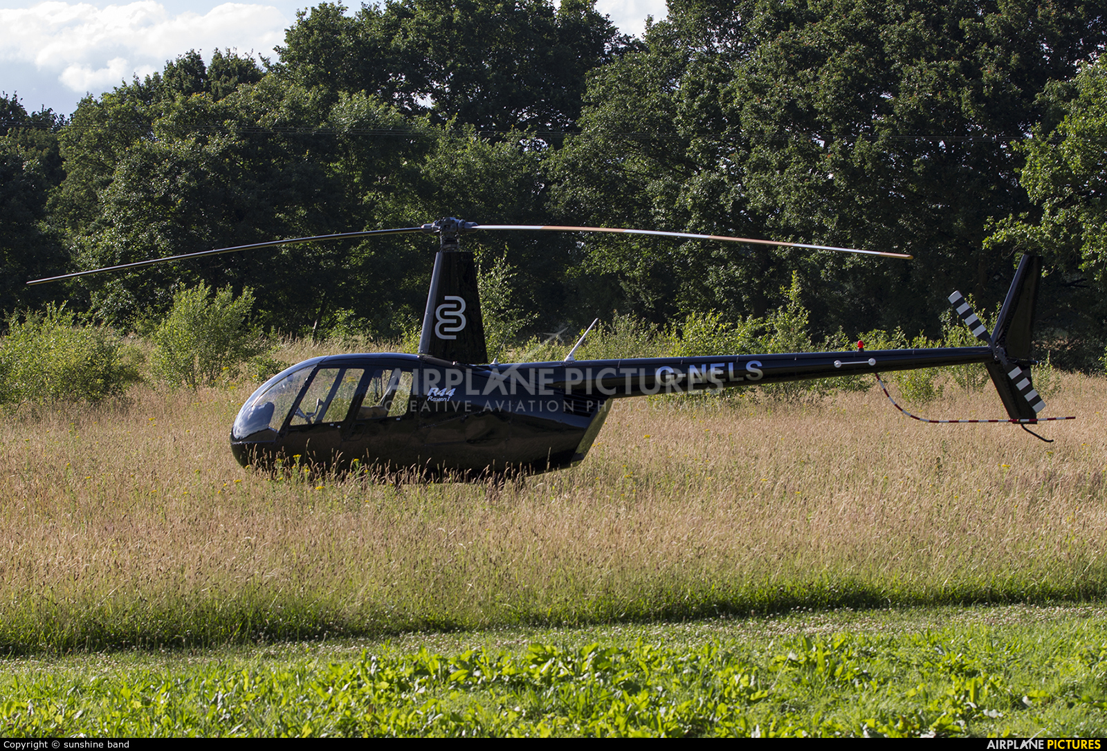 Private G-NELS aircraft at Off Airport - England