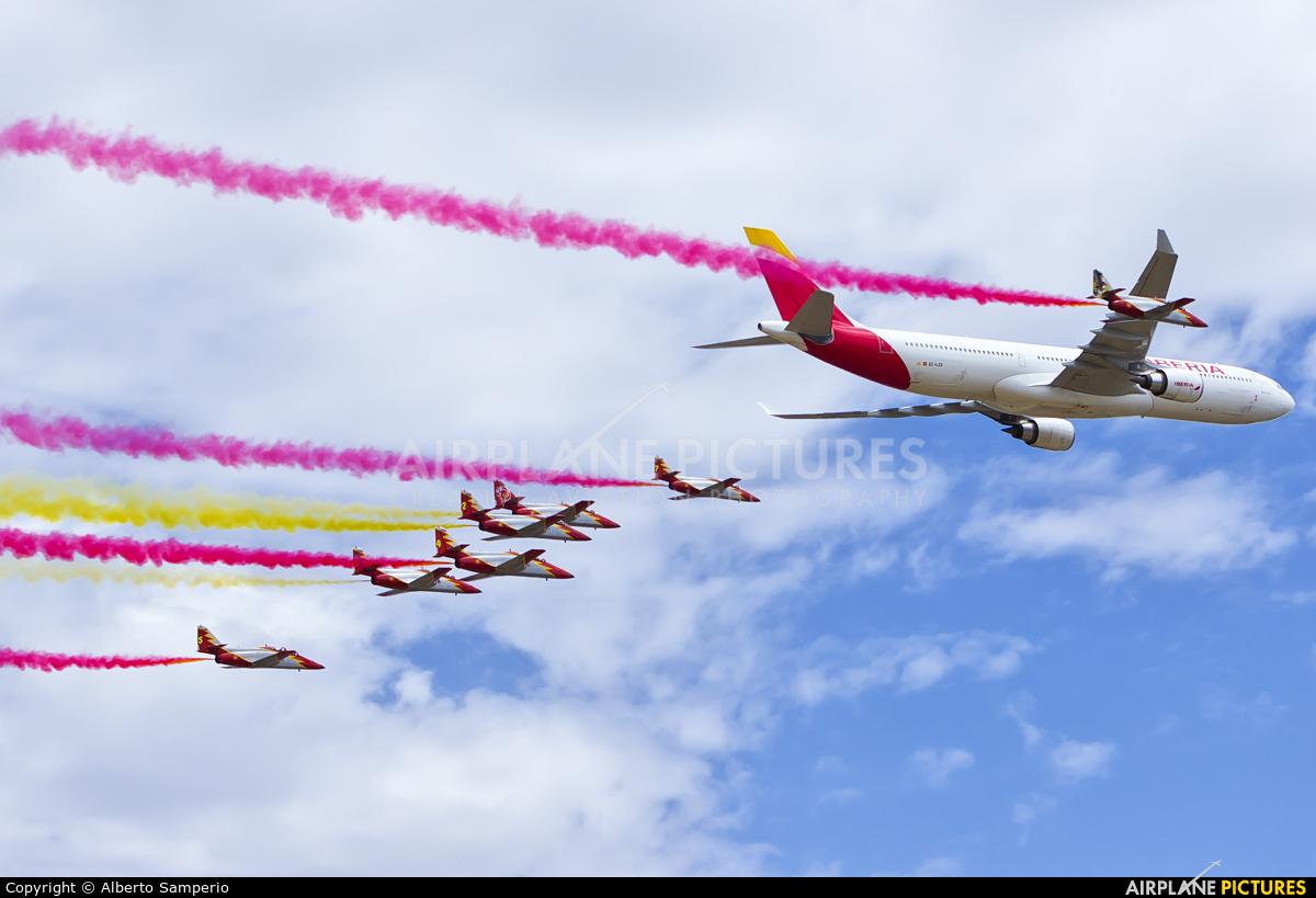 Iberia EC-LZX aircraft at Madrid - Cuatro Vientos