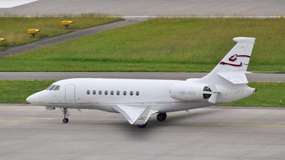 HB-IGU - Private Dassault Falcon 2000 DX, EX