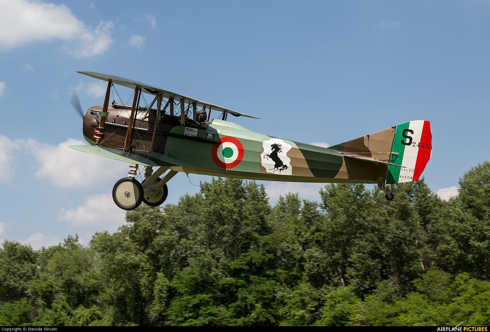 Private I-JONA aircraft at Nervesa della Battaglia