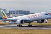 ET-AUB - Ethiopian Airlines Airbus A350-900 aircraft