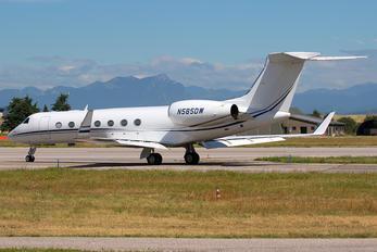N585DW - Private Gulfstream Aerospace G-V, G-V-SP, G500, G550